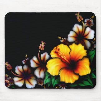 Mouse Pad - Tropical Flowers
