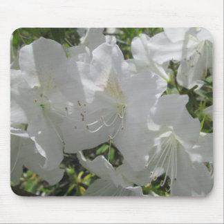Mouse Pad - White Azaleas