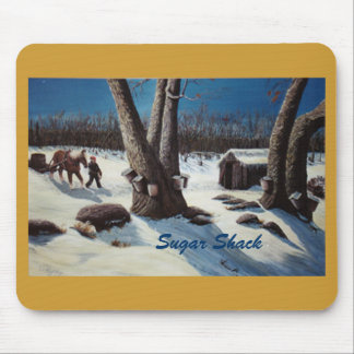 "Mouse Pad witgh ""Sugar Shack"" design"