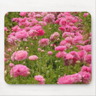 Mouse pad with Beautiful Pink Flowers