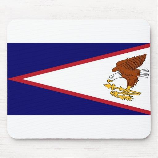Mouse pad with Flag American Samoa- USA
