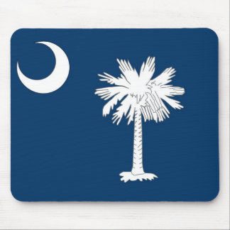 Mouse pad with Flag of South Carolina State - USA