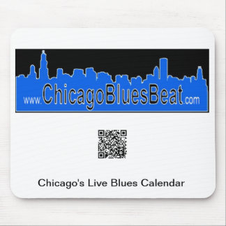 Mouse pad with QR code for Calendar