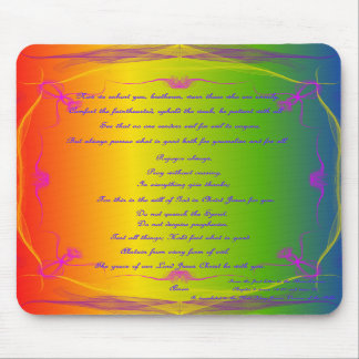 mouse pad with scripture