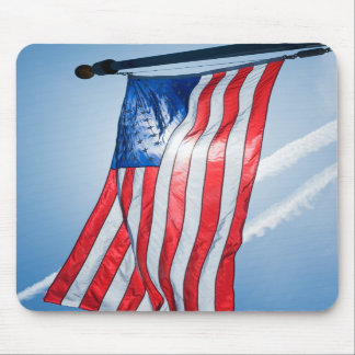 Mouse Pad with the American Flag
