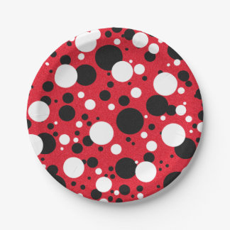 Mouse Party Cocktail Party Paper Plates 7 Inch Paper Plate