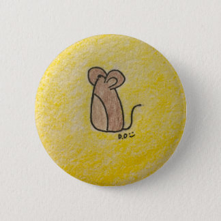 Mouse Pin (Yellow Background)
