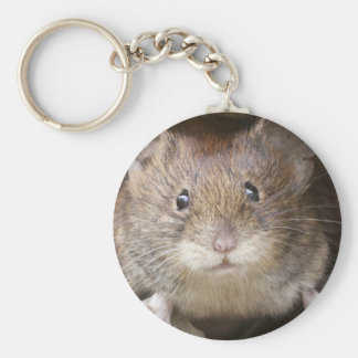 Mouse Portrait Key Ring