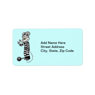 Mouse Prisoner Label