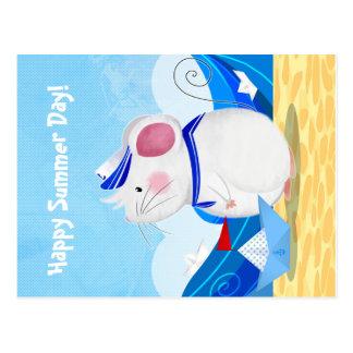 Mouse Sailor postcard