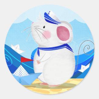 Mouse Sailor sticker