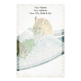 Mouse Slipper Stationery
