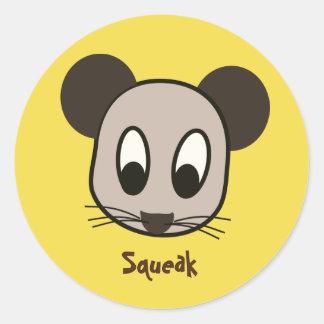 Mouse Squeak Sticker