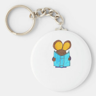 Mouse The Book Worm Key Ring