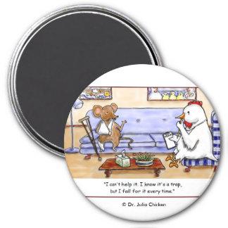 Mouse Trap Fridge Magnets