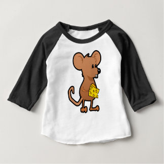 Mouse with Cheese Baby T-Shirt