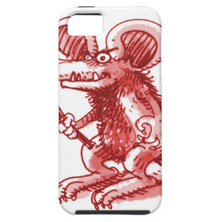 mouse with hard plank iPhone 5 cases