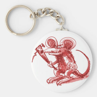 mouse with hard plank key ring