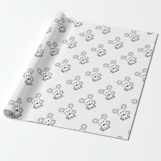 Mouse Wrapping Paper