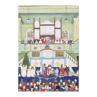 Mousehole Methodist Chapel Cornwall Canvas Print
