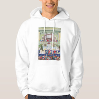 Mousehole Methodist Chapel Cornwall Hooded Pullover