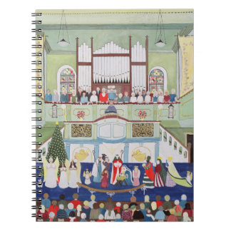 Mousehole Methodist Chapel Cornwall Spiral Note Book