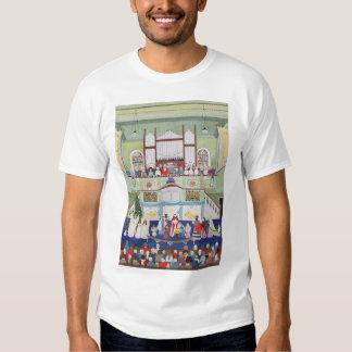 Mousehole Methodist Chapel Cornwall T Shirts