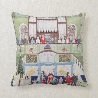 Mousehole Methodist Chapel Cornwall Throw Pillow