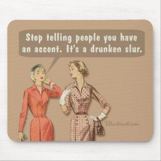 mousepad accent