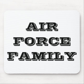 Mousepad Air Force Family