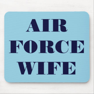 Mousepad Air Force Wife
