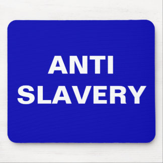 Mousepad Anti Slavery  Blue