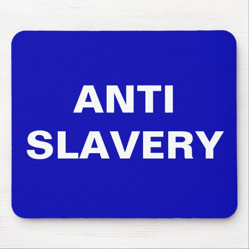 Mousepad Anti Slavery  Blue