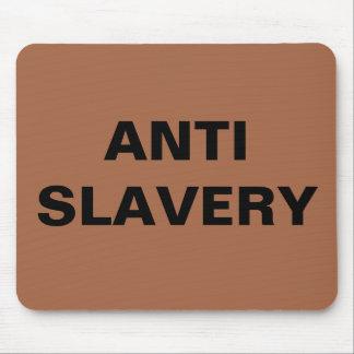 Mousepad Anti Slavery Brown