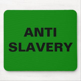 Mousepad Anti Slavery Green