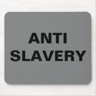Mousepad Anti Slavery Grey