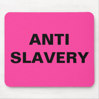 Mousepad Anti Slavery Pink
