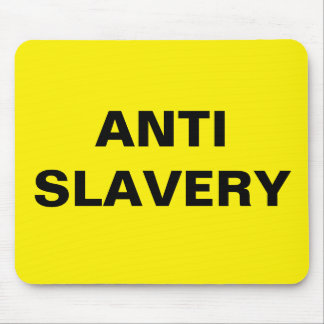 Mousepad Anti Slavery Yellow
