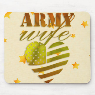 "Mousepad ""ARMY Wife """