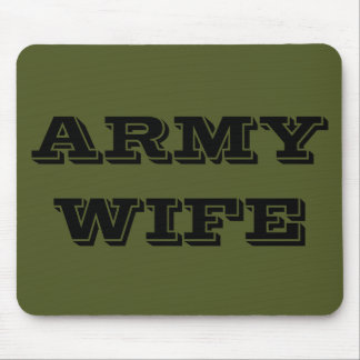 Mousepad Army Wife