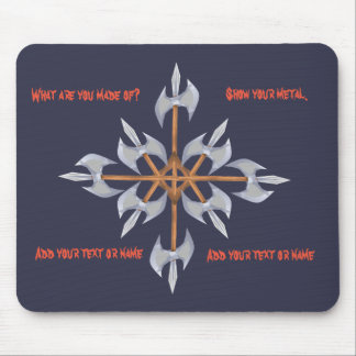 Mousepad Battle Axes design