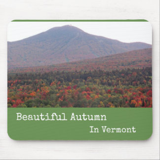 Mousepad Beautiful Autumn in Vermont
