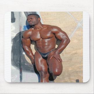 Mousepad, Bodybuilder Jean SCUTT #58A Mouse Pad