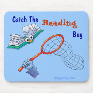 Mousepad_Catch The Reading Bug Mouse Pad