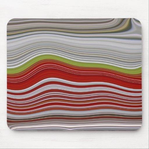mousepad colorful waves