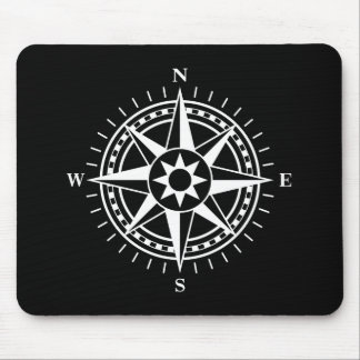 Mousepad: Compass rose Mouse Pad