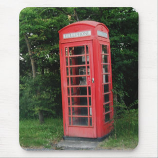 Mousepad Countryside Red Phone Box