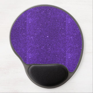 Mousepad Decorate sparkle purple goodluck energy Gel Mouse Pad