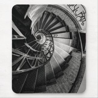 Mousepad draws to Place stairs spiral stair mouse