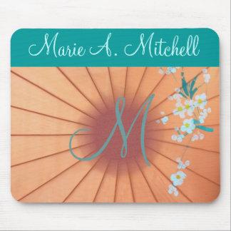 Mousepad ~ Floral :: Monogram